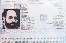 Jonathon Pollard's Israeli Passport
